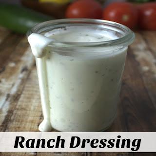 Homemade Ranch Dressing No Sour Cream Recipes.