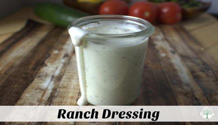 Homemade Ranch Dressing Recipe