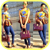 African fashion style - Ankara style for women