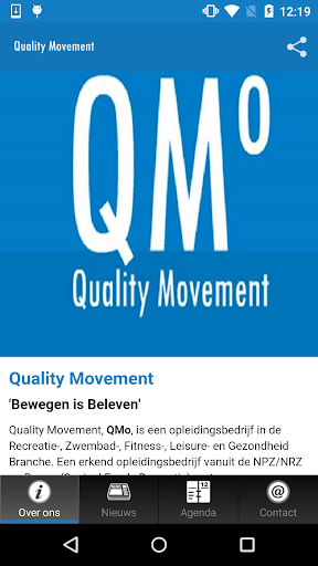 Quality Movement