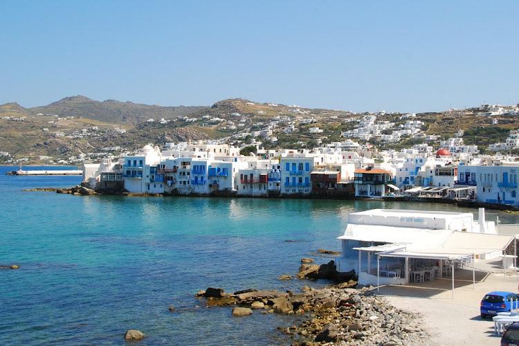 The island of Mykonos, Greece