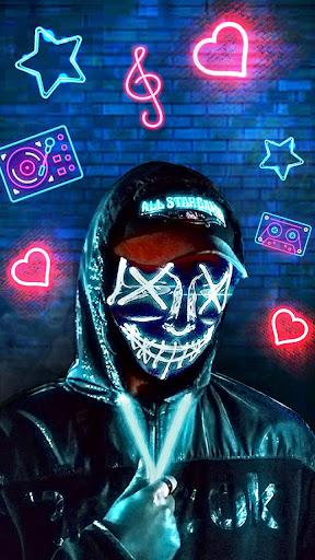 Download Neon Mask Man Themes Live Wallpaper Free For Android Neon Mask Man Themes Live Wallpaper Apk Download Steprimo Com