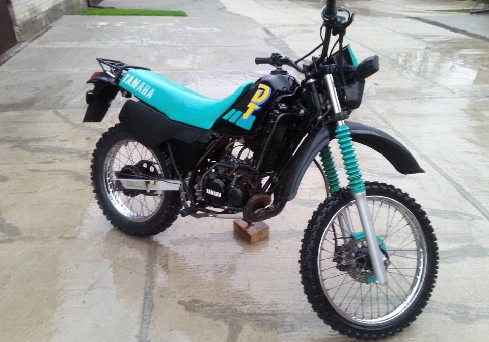 Yamaha DT 80 LC-manual-taller-despiece-mecanica