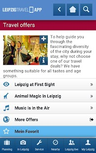 LEIPZIG TRAVEL APP- screenshot thumbnail