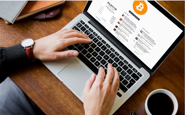 Bitcoin Tab - Streaming price & market info.