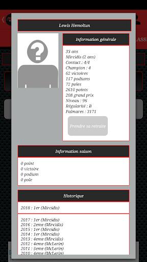 FONE - Gestion d'un pilote de course 0.6.2 de.gamequotes.net 2