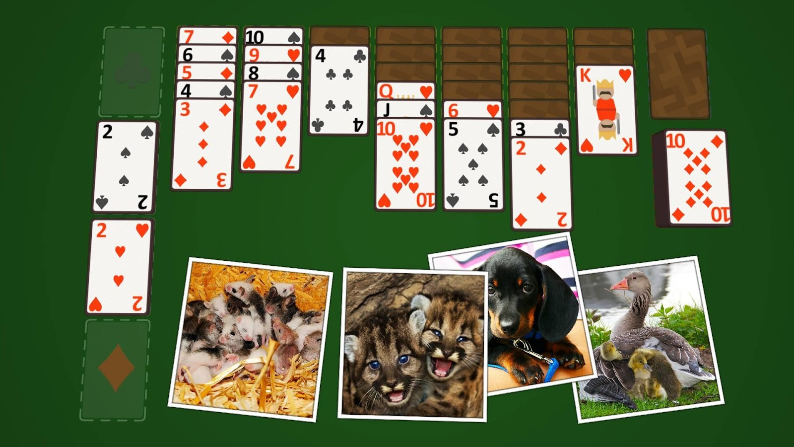 Solitaire Baby Animals- screenshot