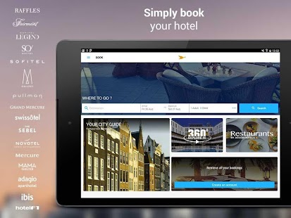 AccorHotels Hotelbuchung – Miniaturansicht des Screenshots