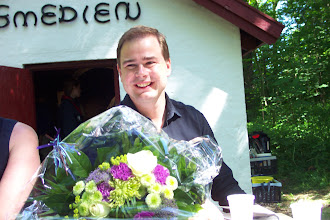 Photo: Nicolai Wammen med blomster