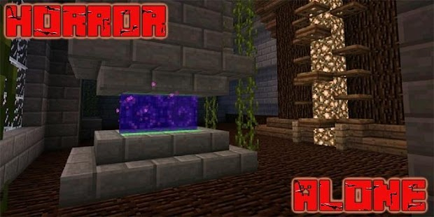 Alone Horror Map MCPE - náhled