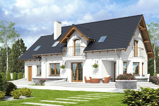 projekt Dom Dla Ciebie 7 z garażem 1-st. A