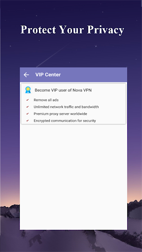 Nova VPN -  Free, no block & lightning speed 1.0.11.1229 screenshots 4