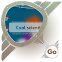 Cool scientist GO SMS icon