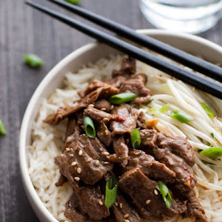 Spicy Beef & Sprout Bowls