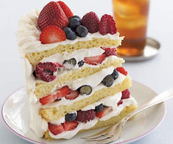 Summer Berry Shortcakes With Vanilla Sauce Recipe