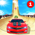 Crazy Car Stunts - Mega Ramp icon