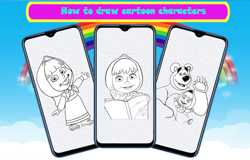 Download How To Draw Cartoon Characters Step By Step Easy Free For