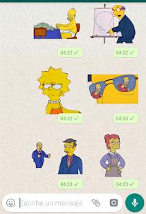 Stickers Memes de los Simpsons – WAStickerApps 1