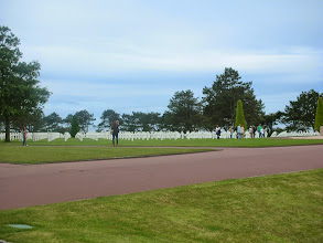 Photo: American Cemetery in Normandy