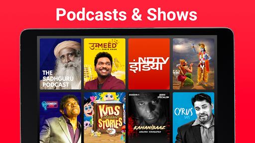 Gaana Music Hindi Tamil Telugu Songs Free MP3 App screenshot 18