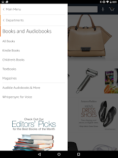 Amazon for Tablets- screenshot thumbnail