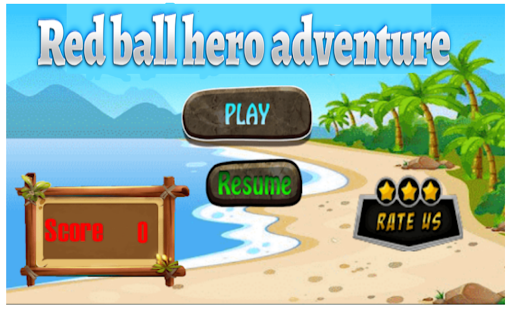 redball hero adventure 1.4 screenshots 1