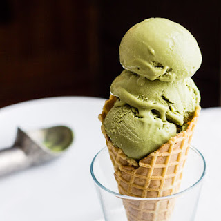 Green Tea Matcha Ice Cream.