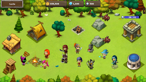 Final Castle Defence : Idle RPG android2mod screenshots 7