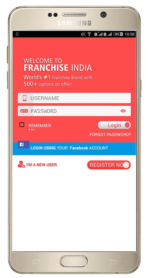 Franchise India- screenshot