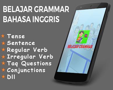 Belajar Grammar Bahasa Inggris - náhled