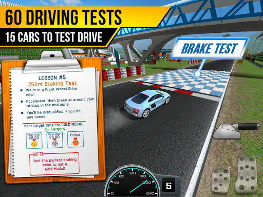 Driving School Test Car Racing 1.2 screenshots 11