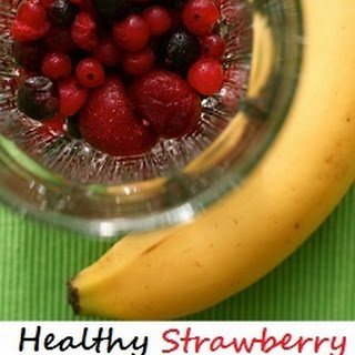 Healthy Strawberry Banana Smoothie Without Yogurt Recipes