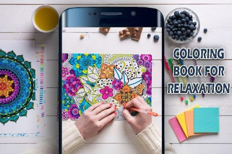 Coloring Book For Relaxation 2018 - náhled