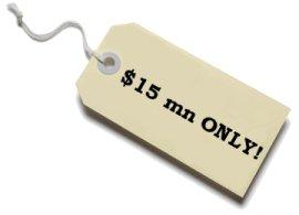 Blog price tag