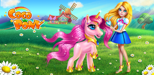 Dress up and care for your new dream pet, Coco Pony!
