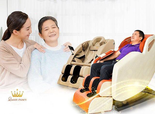 Ghế massage ứng dụng công nghệ AI phù hợp sử dụng với nhiều người