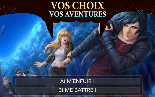 Is-it Love? Peter - Episode Vampire game (apk) free download for Android/PC/Windows screenshot