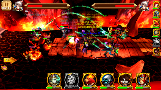 Battle of Legendary 3D Heroes MOD (Rage Skill/Attack Speed) 1