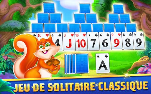 Solitaire TriPeaks Journey: jeu de cartes gratuit  captures d'écran 1