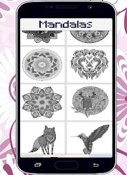 Mandalas Color By Number Pixel Art Coloring Page APK Screenshot Thumbnail 5