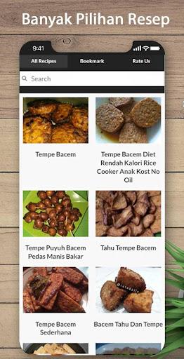 Kalori Tempe Mendoan : kalori, tempe, mendoan, Download, Resep, Tempe, Bacem, Mudah, Android, STEPrimo.com