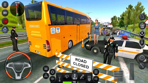 Modern Bus Simulator Drive 3D: New Bus Games Free screenshots 13