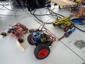 Photo: Lumi's robots