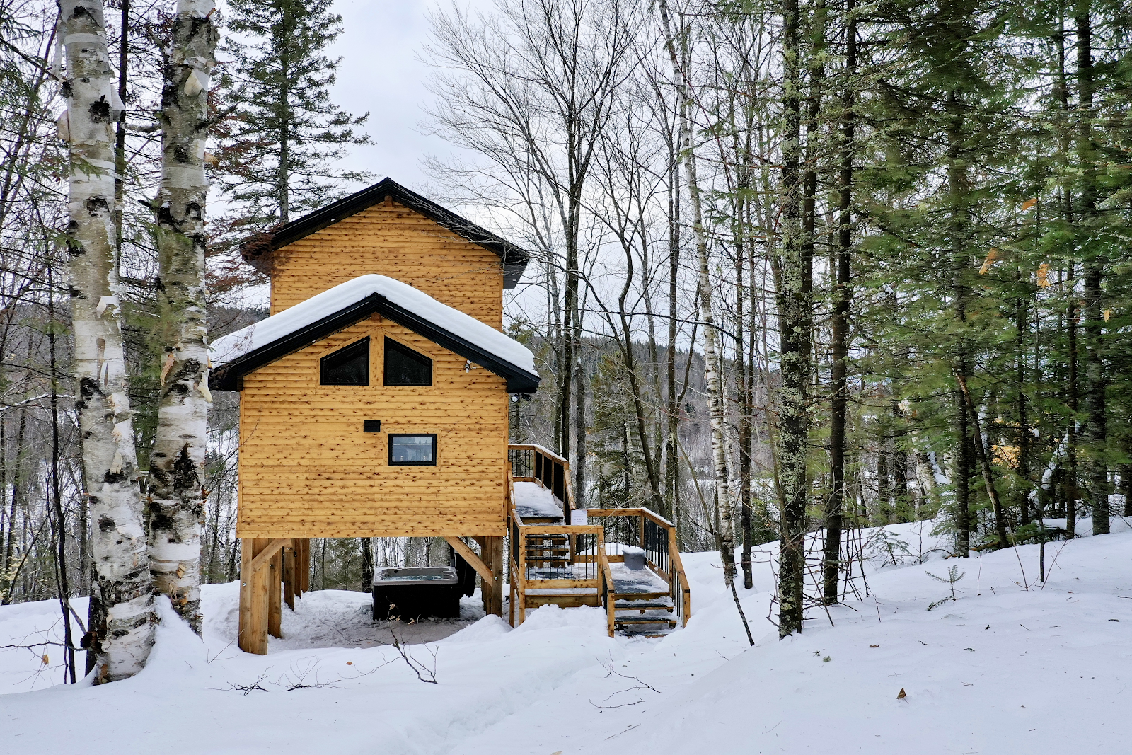 Cottages for rent with 1 bedroom in Quebec #4