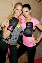 Photo: EXCLUSIVE-New York, NY - 01/15/2013 - Victoria's Secret Angels Kick Off a Healthy & Fit New Year with Victoria's Secret Sport-PICTURED: Erin Heatherton, Adriana Lima-PHOTO by: Marion Curtis/Startraksphoto.com-Filename: MC618050-Location: Victoria's Secret Herald SquareEditorial - Rights Managed Image - Please contact www.startraksphoto.com for licensing feeStartraks Photo New York, NY For licensing please call 212-414-9464 or email sales@startraksphoto.com