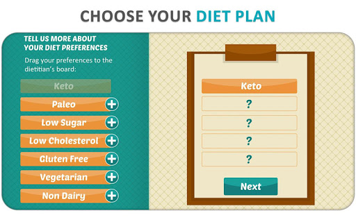 Screenshot for DietWiz: Meal Planner, Recipes & Keto Diet Tracker in United States Play Store