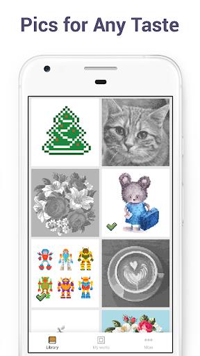 Pixel Art - Colour by Number Book 2.1.2 screenshots 4
