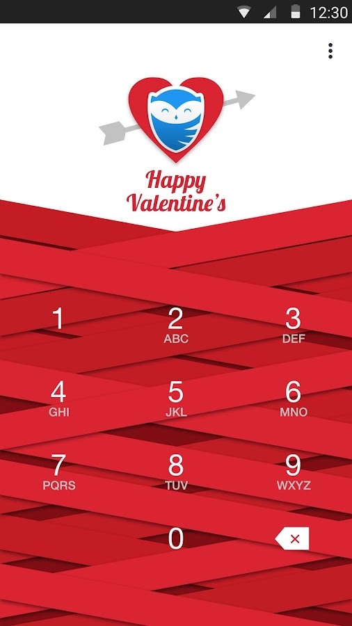 Valentine's Theme for App Lock- screenshot