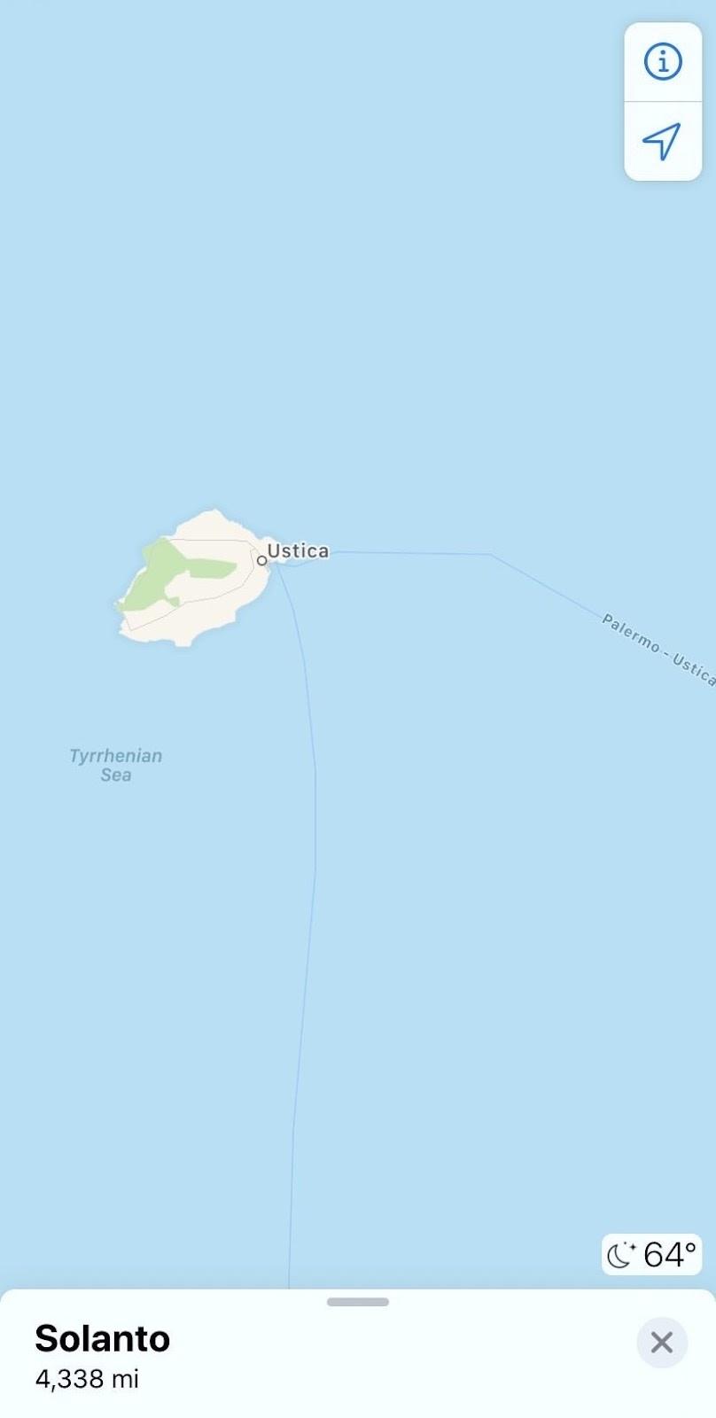 Ustica Island (Credit - Ashlyn Cahill)
