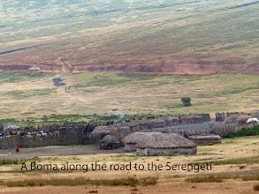 Photo: Maasai village